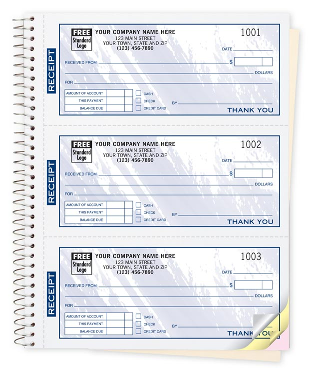 cash reciept book
