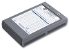 D925 a.k.a. 54102 Portable Plastic Forms Register for 5-1/2 x 8-1/2 Forms