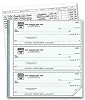 54031N a.k.a. 54031N-1, 54031N-2, 54031 3-On-A-Page Business Size Checks & Deposit Slips