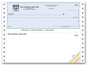 DCT153 a.k.a. 91186 Continuous Checks QuickBooks with Lines