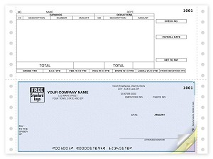 DCB307 a.k.a. 91116 Payroll Continuous Checks, Sage DacEasy