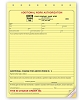120 a.k.a. 120-3 Yellow Additional Work Authorization Forms - Carbonless