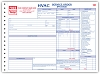 6534 a.k.a. 6534-3  HVAC Service Order Forms with Checklist (crash printed)