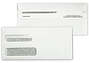 5022C Double Window Security Tinted Forms Envelopes, Self Seal