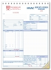 6532 a.k.a. 6532-3 HVAC Service Order Forms with Checklist (crash printed)