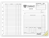6545 a.k.a. 6545-2, 6545-3 Side Stub Work Order / Invoice Form - Carbonless