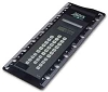 DISCONTINUED - 1743N a.k.a. 1743 Solar Powered Password Protected Calculator with Ruler for 3 to a Page Binder