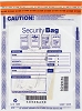 "NEW - 53849 Bank Security Deposit Bag, Clear Single Pocket, 9"" x 12"