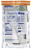 "NEW - 53853 Bank Security Deposit Bag, Clear Single Pocket, 10"" x 15"