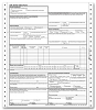 60157X, ADA 2012 One Part Continuous Insurance Claim Form - Size: 8 1/2 x 11