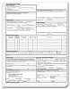 60170 a.k.a. 70170, ADA 2006 Insurance Claim Form, Padded & Imprinted