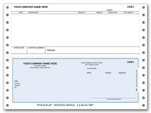 DCB284 a.k.a.DCB284-1, DCB284-2, DCB284-3, 91137 Accounts Payable Continuous Checks, Tabs3