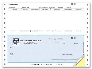 DCB304 a.k.a. DCB304-1, DCB304-2, DCB304-3, 91102 Payroll Continuous Checks, Open Systems, OSAS