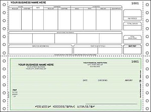 DCB345 a.k.a. DCB345-1, DCB345-2, DCB345-3, 90166 Payroll Continuous Checks, Sage 300 Construction, Timberline