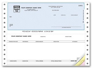 DCT253 a.k.a. DCT253-1, DCT253-2, DCT253-3, 91106 Accounts Payable Continuous Checks, Open Systems, OSAS