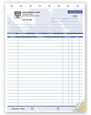 106T a.k.a. 106T-2, 106T-3, 240000 Shipping Invoice Form, Color Designs