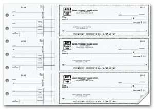 53220N a.k.a. 53220N-1, 53220N-2, 53220 - 3 On a Page Side Voucher Checks
