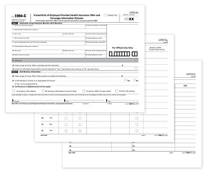 TF5500, 1094C a.k.a. B1094CS05 ACA Laser Transmittal Employer Provided Health Insurance Form