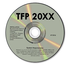 TF1101 a.k.a. TF1101-4, 95414 CD-ROM Tax Form Software for Windows