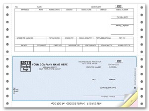 DCB346 a.k.a. DCB346-1, DCB346-2, DCB346-3, 90121 Payroll Continuous Checks, Sage DacEasy