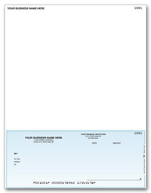 DLB250 a.k.a. DLB250-1, 880108 Sage 500 ERP, MAS 500 Accounts Payable Laser Checks - Long Stub
