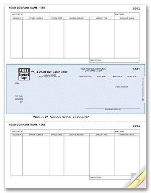 DLM210-1 a.k.a. 880949-1 RealWorld Classic Accounting® Middle Accounts Payable Laser Check
