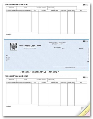 DLM231 a.k.a. DLM231-1, 880126 Dynamics GP, Sage 50 First Accounting Accounts Payable Laser Checks