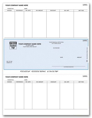 DLM277 a.k.a. DLM277-1 Sage, ACCPAC, SBT Accounts Payable Middle Laser Check
