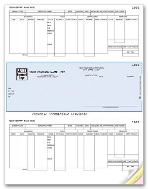 DLM335 a.k.a. DLM335 -1, 880127 Dynamics GP, Great Plains Payroll Laser Checks