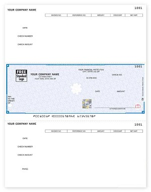 SDLM219 a.k.a. SDLM219-1, SSLM219 DacEasy Accounts Payable Laser Checks - Foil Hologram