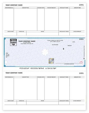 SDLM275 a.k.a. SDLM275-1, SSLM275 Sage 50, Peachtree Accounts Payable Laser Checks - Foil Hologram